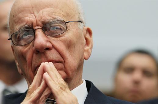 Rupert Murdoch's News Corp made an £8bn (€9.3bn) approach in June to buy the 61pc of BSkyB it does not already own. Photo: Getty Images