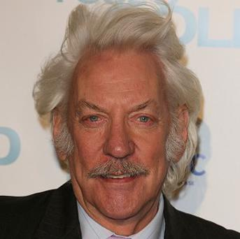Donald Sutherland doesn't think he's a victim of Hollywood ageism