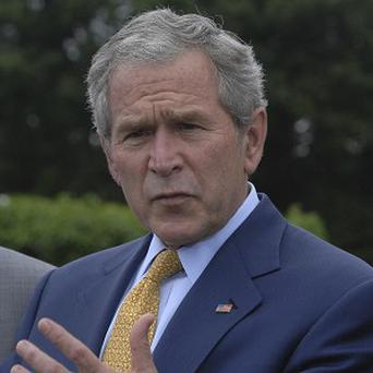 George Bush said he misses the perks of the job of US president, like the us of Air Force One