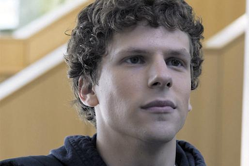 The contenders: Jesse Eisenberg in 'The Social Network'
