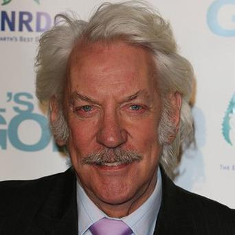 Donald Sutherland stars alongside Jason Statham in The Mechanic