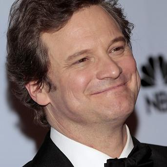Colin Firth is delighted to be nominated for an Oscar for The King's Speech