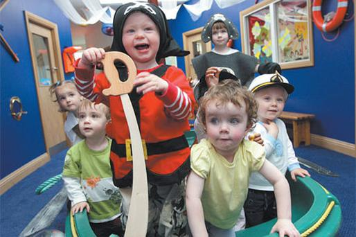 'Nautical play' at Park Academy Childcare in Eden Gate, Delgany
