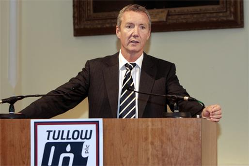 Tullow Oil Chief Executive Aidan Heavey. Photo: Tom Burke