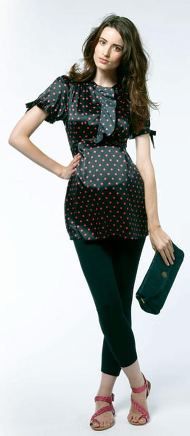 'Palmerstown' blouse by Noppies, €64.95 from Naissance Maternity. Naissance Maternity, Wexford, t: 053 9121831 www.naissance.ie