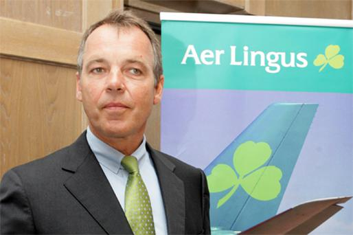 Traders again backed Aer Lingus chief executive Christoph Mueller. Photo: Collins Photo Agency