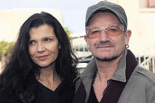 Ali Hewson and husband Bono, who is co-founder of Red