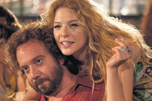 SAGA: Paul Giamatti and Rachelle Lefevre in 'Barney's Version'
