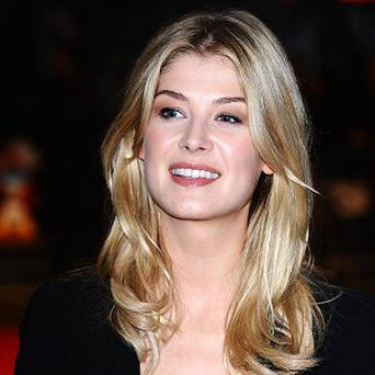 Rosamund Pike admits getting older is daunting