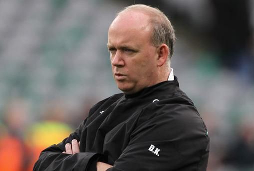 Coach Declan Kidney looks set to opt for bulk and experience against an ultra-physical Italian outfit. Photo: Getty Images