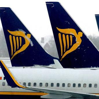 Ryanair has reported a loss for the final three months of last year after it was forced to cancel more than 3,000 flights