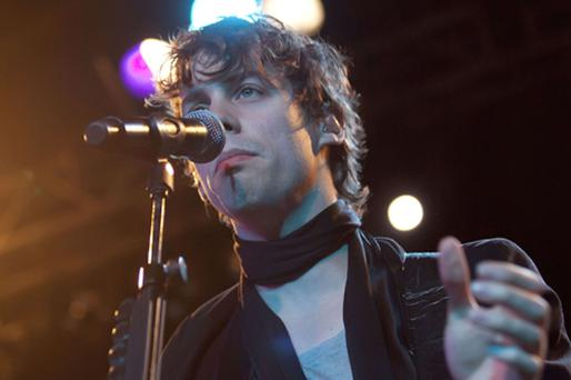 Singer and guitarist Johnny Borrell. Photo: Getty Images