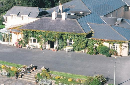 On the market: The Rock Glen Hotel in Clifden, Co Galway is expected to achieve in the region of €1m