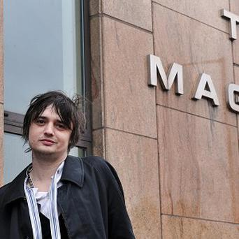 Pete Doherty denies a possession charge