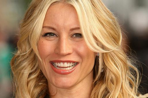 Denise Van Outen is to front the new OK! TV show for Five. Photo: PA