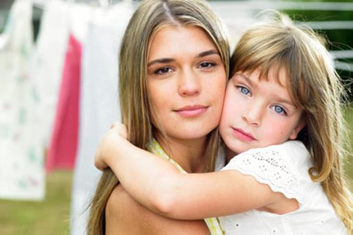 The findings might also explain why a mother can apparently give instant comfort to a poorly child by 'kissing it better'. Photo: Thinkstockphotos.com