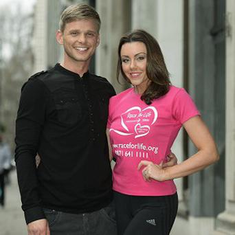 Jeff Brazier and Michelle Heaton launched the special live charity cinema ad