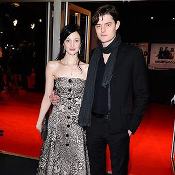 Sam Riley has been singing the praises of co-star Andrea Riseborough