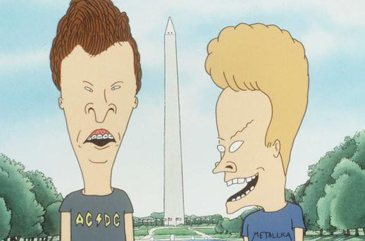 Beavis and Butt-head ran for 200 episodes from 1993 to 1996. Getty Images