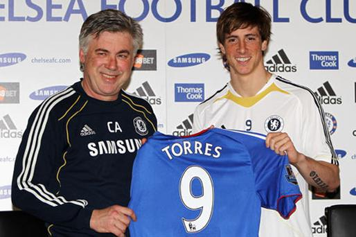 Fernando Torres admitted he knew Chelsea would be his destination as soon as the clubs began talks. Photo: Getty Images