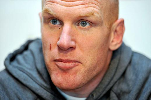 Ireland's Paul O'Connell during a press conference. Photo: Sportsfile