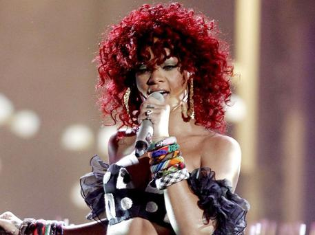 Rihanna's dad is part- Irish. Photo: AP