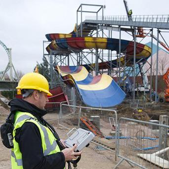 Thorpe Park's new Storm Surge ride has been moved amid fears that it had disturbed an ancient burial ground
