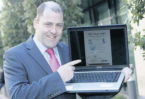 The Apprentice's Brian Purcell launches Macra na Feirme's free employment e-book for young people, which is available on www.macra.ie and was compiled by Galway-based Sli Nua Careers