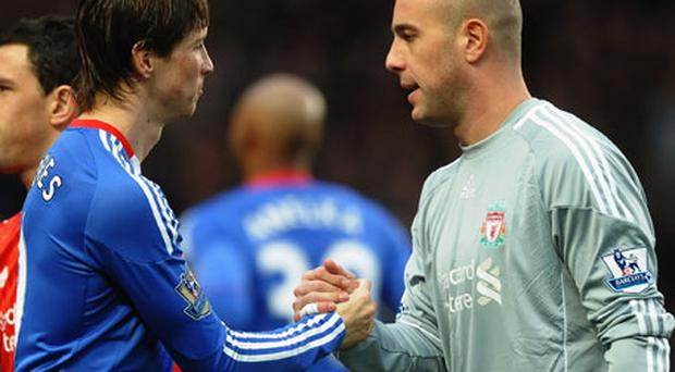 Ambition: Pepe Reina is desperate to play Champions League football Photo: Getty Images