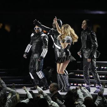 Black Eyed Peas took to the stage at half-time at the 2011 Super Bowl