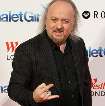 Bill Bailey arriving at the London premiere of Chalet Girl