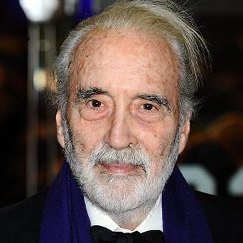 Sir Christopher Lee will receive the Academy Fellowship at the Baftas