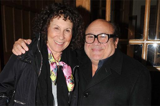 Danny and his actress wife Rhea Perlman are scouting potential film locations