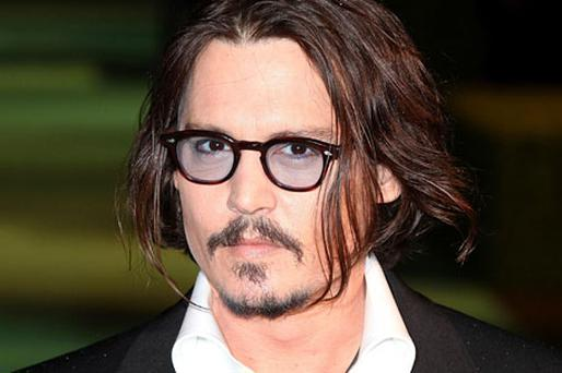 FAMOUS LAST-BORN: Johnny Depp. Photo: PA