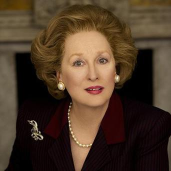 Meryl Streep has been transformed for her role as former Prime Minister Margaret Thatcher