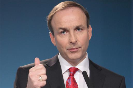 Fianna Fail's Micheal Martin put in a 'breathtaking' performance against Labour's Eamon Gilmore in the leaders' debate