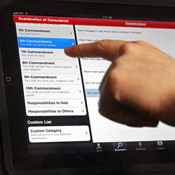 A new app is designed to help Catholics prepare for confession (AP)