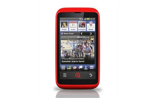 INQ's Cloud Touch is the first of a new generation of phones to offer comprehensive Facebook integration