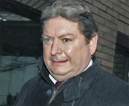 Eric Illsley arriving at court in London yesterday