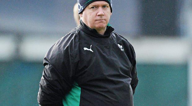 Declan Kidney. Photo: Sportsfile