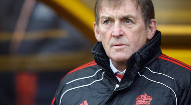 Liverpool manager Kenny Dalglish. Photo: PA