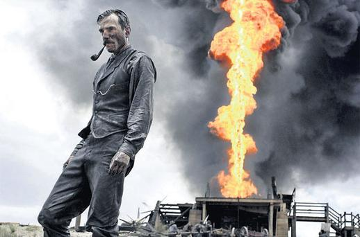 PIPE DREAMS: Daniel Day Lewis as the sulphurous oil tycoon in 'There Will Be Blood'