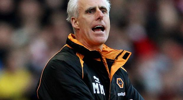 Wolves manager Mick McCarthy Photo: Getty Images
