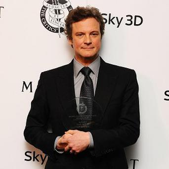 Colin Firth has landed another award for his role in The King's Speech