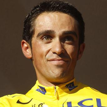 Contador: could ride again tomorrow. Photo: Reuters