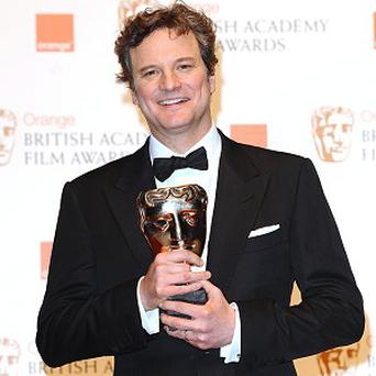 Bafta winner Colin Firth is excited about the Oscars