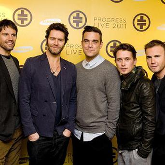 Take That's Brits performance will be available to download