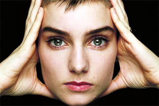 Singer and songwriter Sinead O'Connor