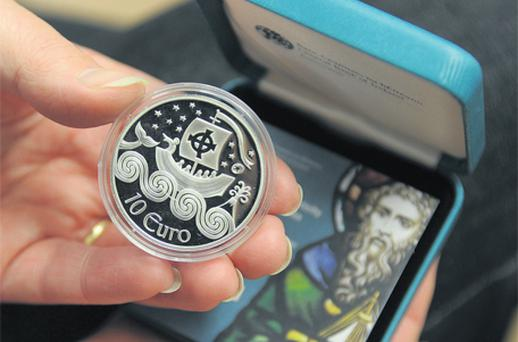 The collector coin is part of a Europe-wide initiative to honour European explorers