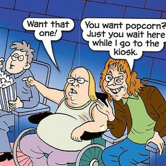 David Walliams and Matt Lucas' alter egos Lou and Andy make a guest appearance in BeanoMAX magazine